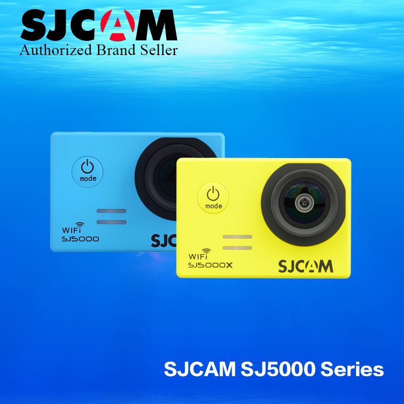 цена Original SJCAM SJ5000X Elite 4K 24fps 2K 30fps Gyro Action Cameras 30M Waterproof NTK96660 2.0 LCD SJ CAM sj 5000x Sports DV