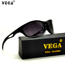 VEGA Eyewear Sports Sunglasses for Police Men Polarized Fish