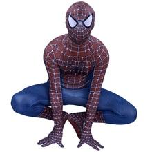 цена Spiderman Costume Cosplay Remy Tony Costume Superhero Costume Men Adult Halloween Costume For Adult Men Suit Jumpsuit