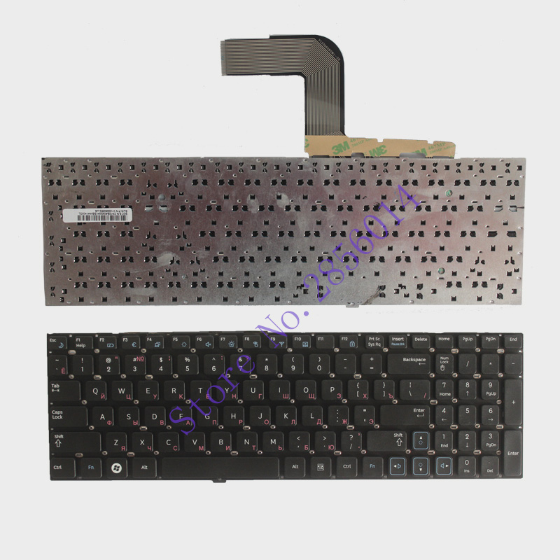 Russian keyboard For Samsung RV509 RV511 NP-RV511 RV513 RV515 RV518 RV520 NP-RV520 RU black Laptop Keyboard