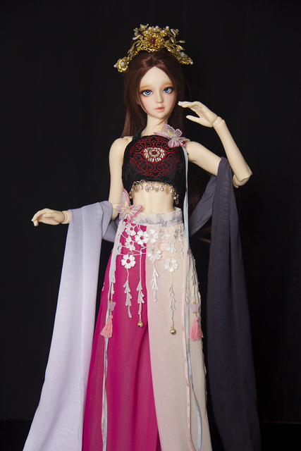 1/3 BJD doll cos ancient costume new dance day female  SD16