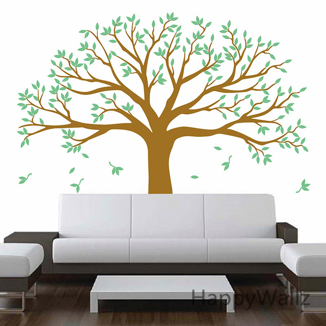 Marvelous Large Family Tree Wall Stickers Family Photo Tree Wall Decal DIY Removable  Wall Decoration Large Tree