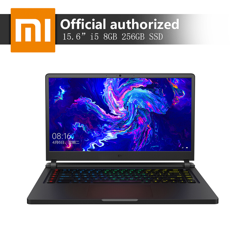 Xiaomi Mi Gaming Laptop 15.6 Inch Intel Core i5 i7 8GB / 16GB DDR4 256GB SSD + 1TB Windows10 Backlit Keyboard Mi Notebook(China)