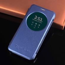 Inteligentny widok odwróć skórzany futerał na telefon do Asus Zenfone 2 3 Laser Zenfone2 Zenfone3 ZE550KL ZE551KL ZC551KL ZE 550 ZC 551 KL