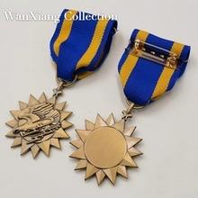 Высокое качество США значок Америка Летающие тигры воздуха медаль лента WW2 Второй мировой войны герой булавка брошь