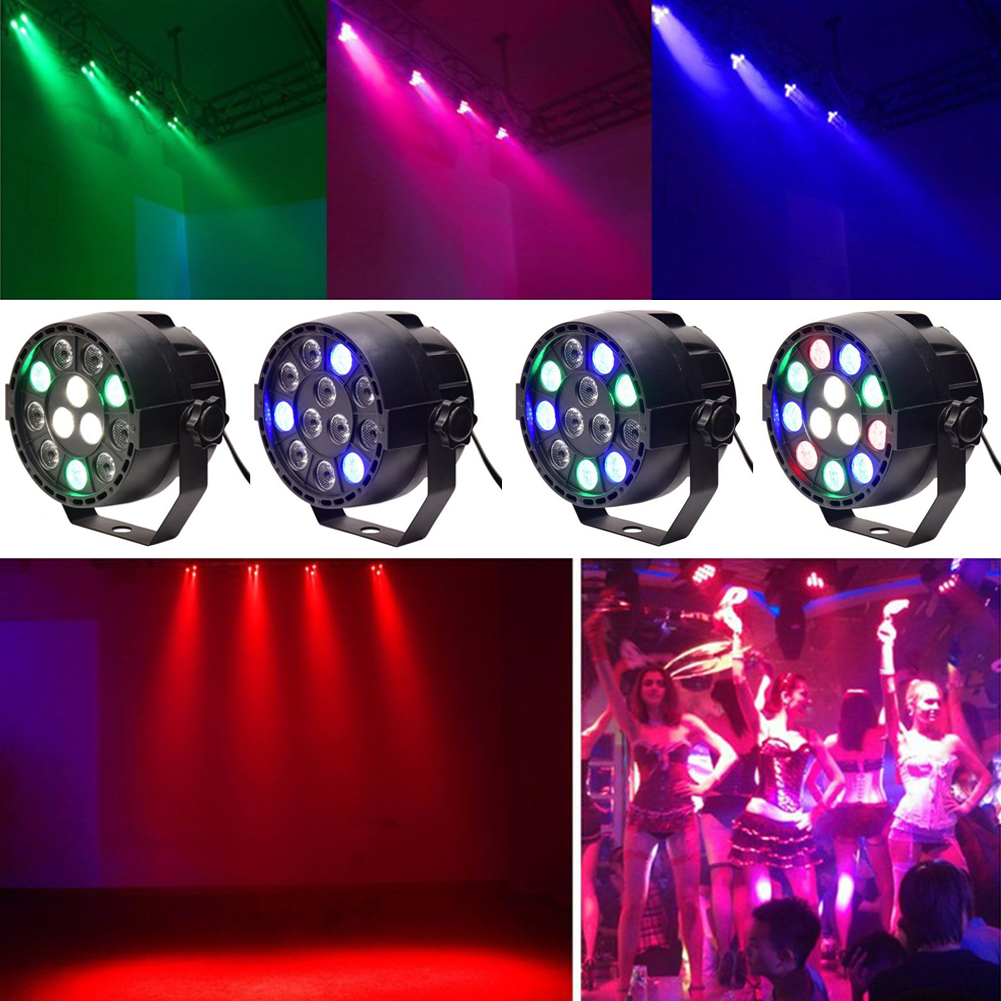 New TSLEEN Colorful LED Ball Stage Effects Lighting Club Disco Xmas Party Light DMX512 RGB Dance Lighting Equipment DJ PAR Lamp 4pcs new for ball uff bes m18mg noc80b s04g