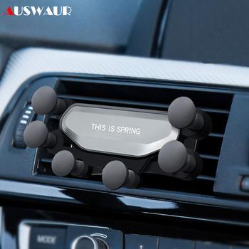 Telefon komórkowy uchwyt samochodowy uchwyt na telefon dla Huawei P10 P20 P30 Pro Honor 8X9 10 20 30 Lite uniwersalny grawitacji odpowietrznik uchwyt do samochodu tanie i dobre opinie auswaur this is one Samochód this is one holder this is one phone holder