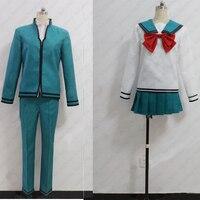 New Anime The Disastrous Life Of Saiki K Cosplay Kokomi Teruhashi Costume School Uniform
