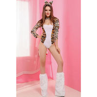 Pin Up Leopard Cat Lady Costume
