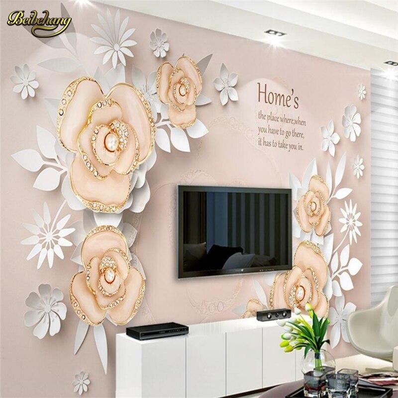 online get cheap perla carta da parati floreale -aliexpress.com ... - Parati Per Camera Da Letto