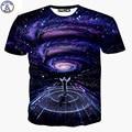 Mr.1991 бренд летом стиль футболки мальчик обе стороны Galaxy симфонический дирижер 3D Плюс размер девушки футболка Старшие дети топы X21