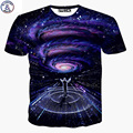Mr.1991 brand summer style t shirts boy both side Galaxy symphony conductor 3D Plus size girls tshirt Elder children tops X21