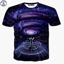 Mr.1991 marque style d'été t chemises garçon à la fois côté Galaxy symphonie conducteur 3D Plus La taille filles t-shirt Elder enfants tops X21