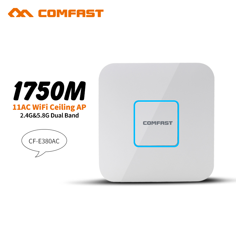 все цены на 1750Mbps wireless Ceiling AP router 5.8G+2.4G 802.11AC Gigabit LAN wifi access point AP wi fi router 48V POE adapter dd openwrt онлайн