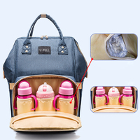 Mummy Bag Diaper baby bag waterproof fashion Mother and infant Multi function Both shoulders High capacity