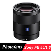 Sony 55/1.8 objectif pour sony sonnar t * fe 55mm f/1.8 za lentilles pour sony a7 a7m2 a7rii a7sii
