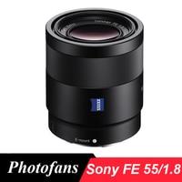 Sony 55/1.8 obiektyw dla sony sonnar t * fe 55mm f/1.8 za a7m2 soczewki dla sony a7 a7rii a7sii