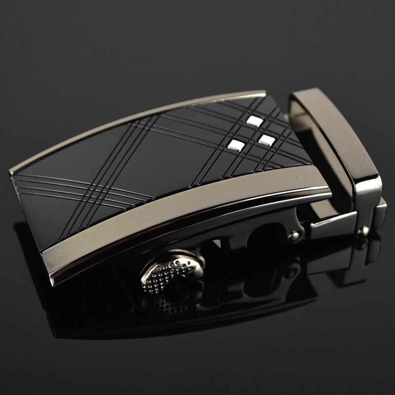 Men's Business Alloy Automatic Buckle Unique Men Plaque Belt Buckles For 3.5cm Ratchet Designer Belts Luxury Belt LY187791