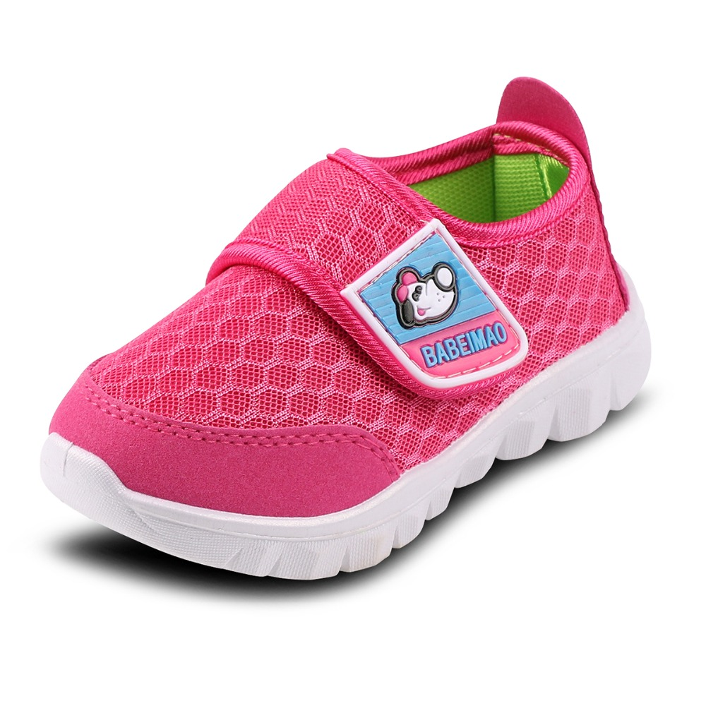 Hot Sell 2019 New Comfortable Kids Shoes Children Sport Shoes Boys Shoes Girls Mesh Cloth Breathable Sneakers Kids Sneakers