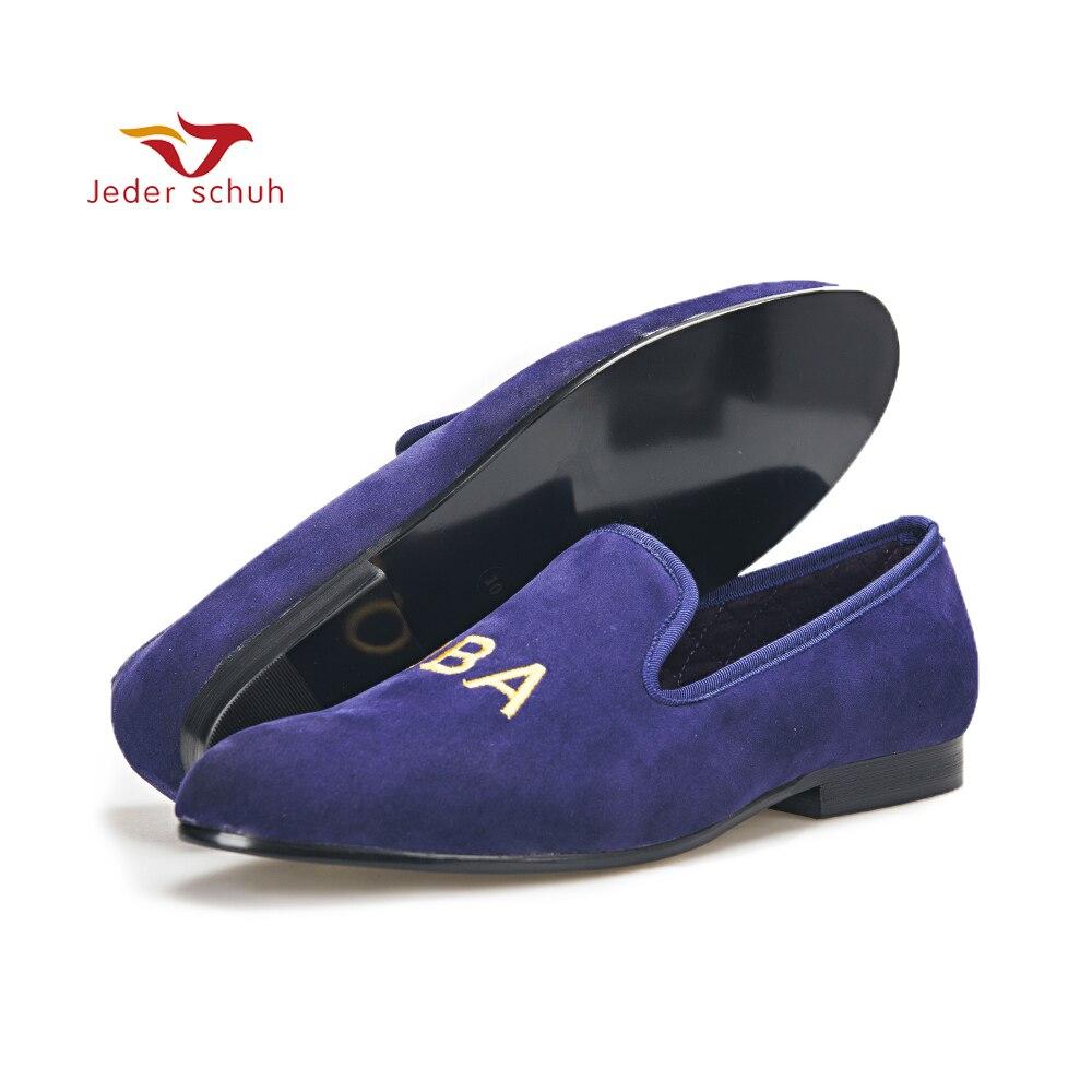 Для мужчин обувь настроить вышивка Для мужчин партии модные Лоферы для выпускного и банкет Для мужчин платье обувь Британский Стиль слиппе...