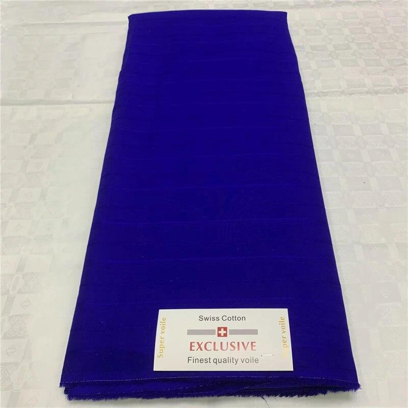 (5 Yds/set) Haute Qualité Dubai 100% Coton Dentelle Suisse Tissu Violet Avec Broderie Or Plus Mousseline De Soie Blouse Dentelle Pour La Fête Vif Et Grand Dans Le Style