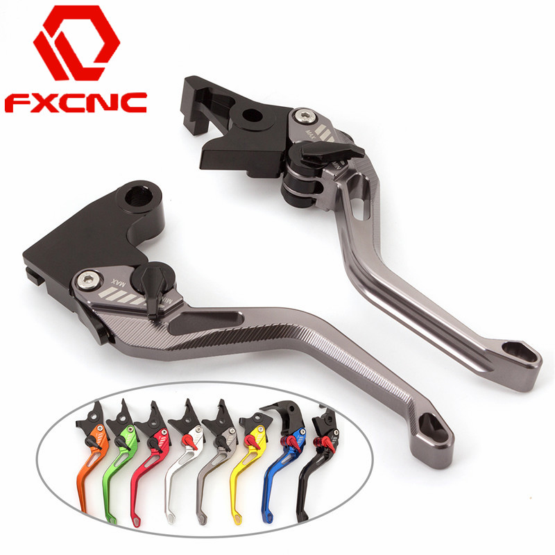 FXCNC 3D Feel Motorcycle Adjustable Brake Clutch Levers For Yamaha TDM 900 2012 2013 2014 1 Pair Motorbike Handle Accessories