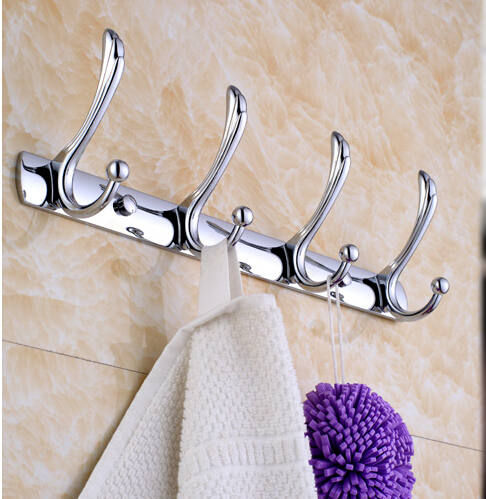 2016 High Quality Chrome Stainless steel Towel Hooks Wall Mounted Robe Hooks,Clothes Hook,Towel Holder,Bathroom hook