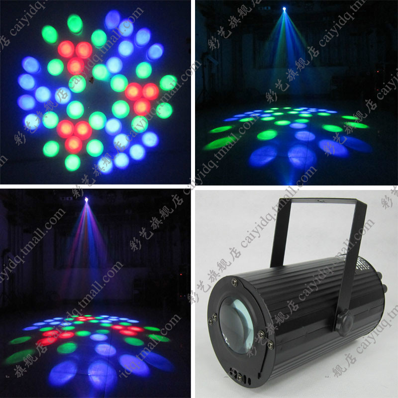 Cylincler Moonflower led party lights 220V RGBW led dj effect light professional stage lighting for disco bar party band newest magic ball lights 2pack 12x3w rgbw 4in1 led gobo effect lights for party disco dj christmas lighting shows fast shipping