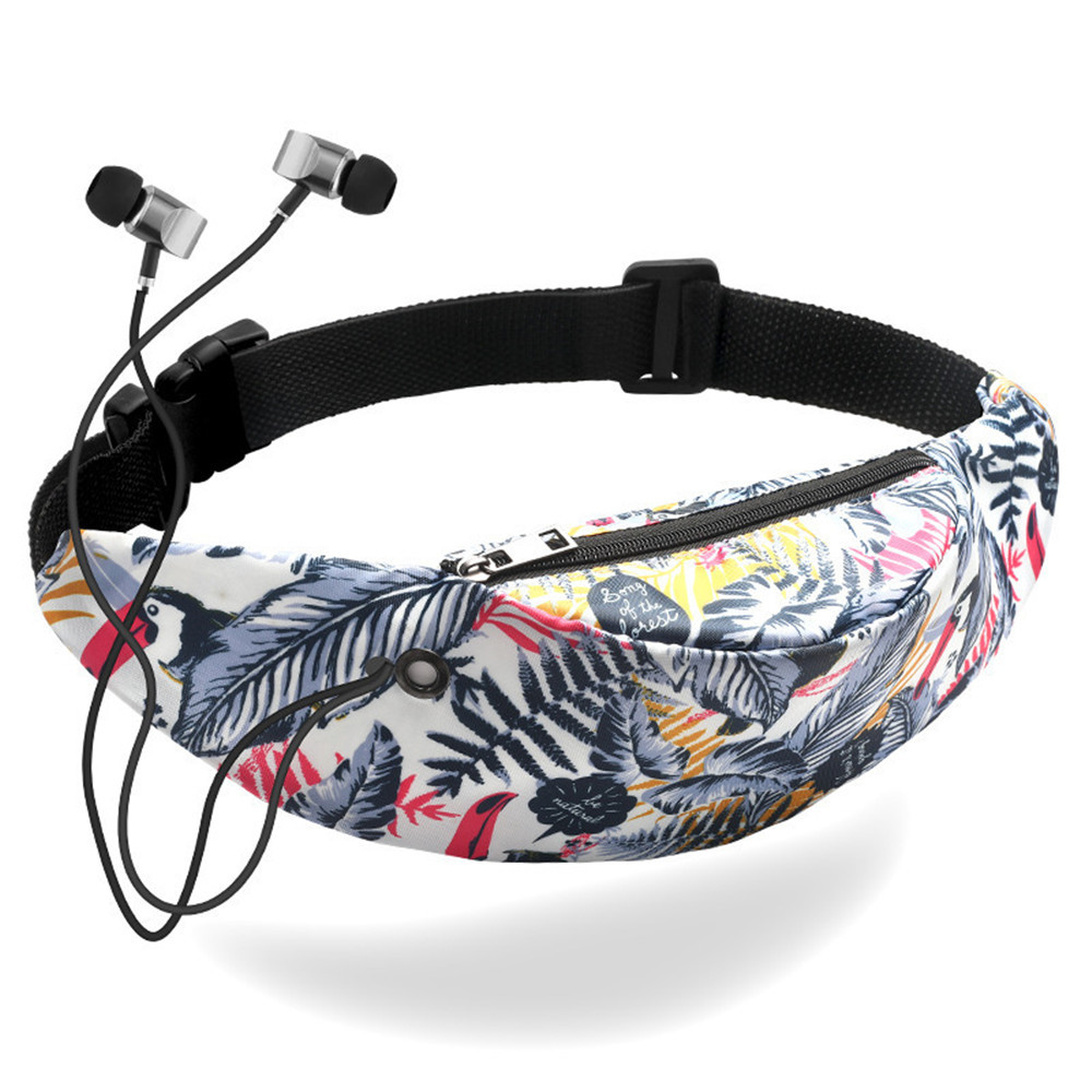 Colorful Waist Bag Mobile Phone Waist Pack For Women Belt Bag Waterproof Sport Travel Fanny Pack