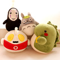 13-18 CM 2016 new arrived plush  Bamboo bag cartoon totoro OutMan plush toys baby toys pillow cloth doll