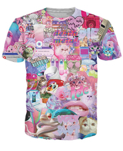 Omfgsotumblr T Shirt Kittens Awesome Fake Vibrant Tees Vgly Slut IDC Tops Summer Style Tees Women