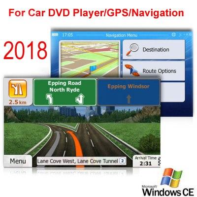 8 GB Micro SD Card Car GPS navegación 2018 mapa software para Europa, Italia, Francia, Reino Unido, Países Bajos, España, Turquía, Alemania, Austria, etc.