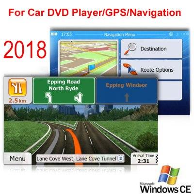 8 GB tarjeta Micro SD coche GPS navegación 2018 mapa software para Europa, Italia, Francia, Reino Unido, países Bajos, España, Turquía, Alemania, Austria, etc.