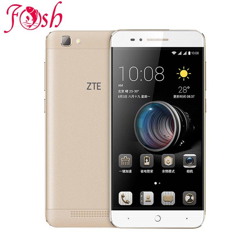 ZTE BA610T Mobile Phone MTK6735P Quad Core Android 5 1 1280X720 2GB RAM 8GB ROM 8