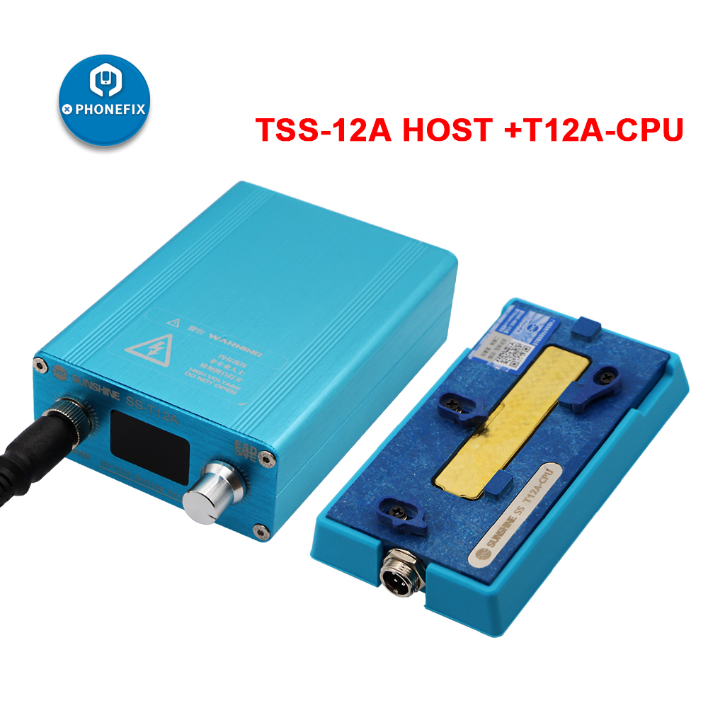 Tools : SS-T12A X3 for iPhone X XS XSMAX Motherboard Layered Face ID Fix Teardown Platform CPU Middle-level Mainboard Soldering Station