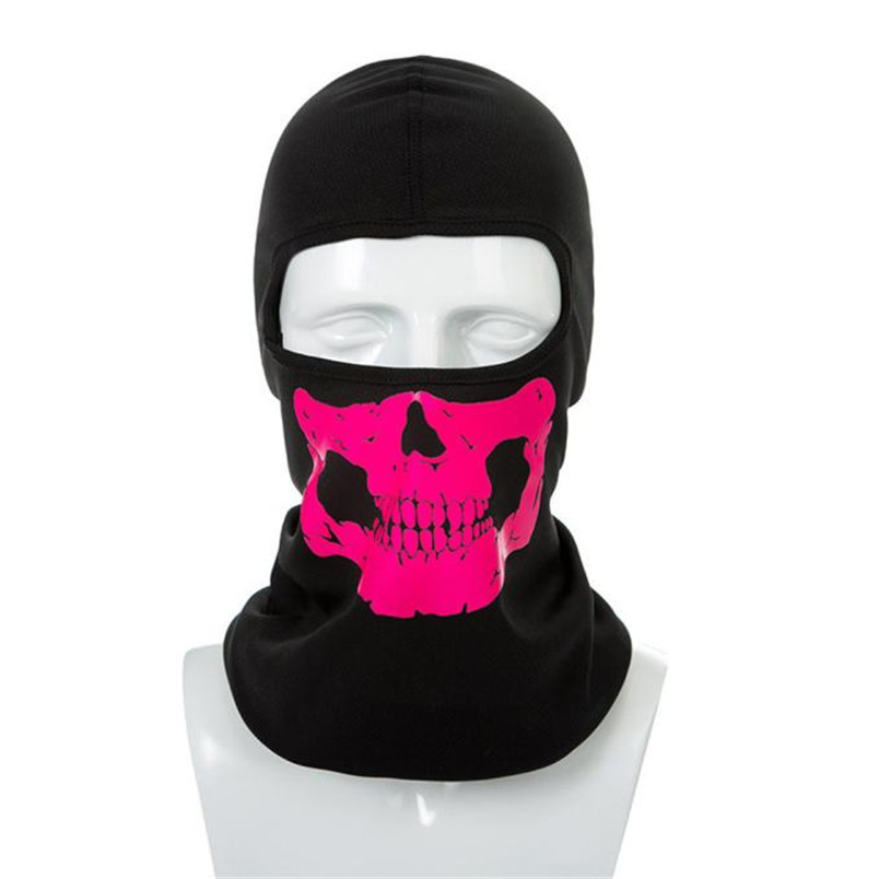 1PC Cycling Face Mask Sun Wind And Dust Mask Riding halloween skull face mask Outdoor Sport Cycling Equipment 2018 new #4O04