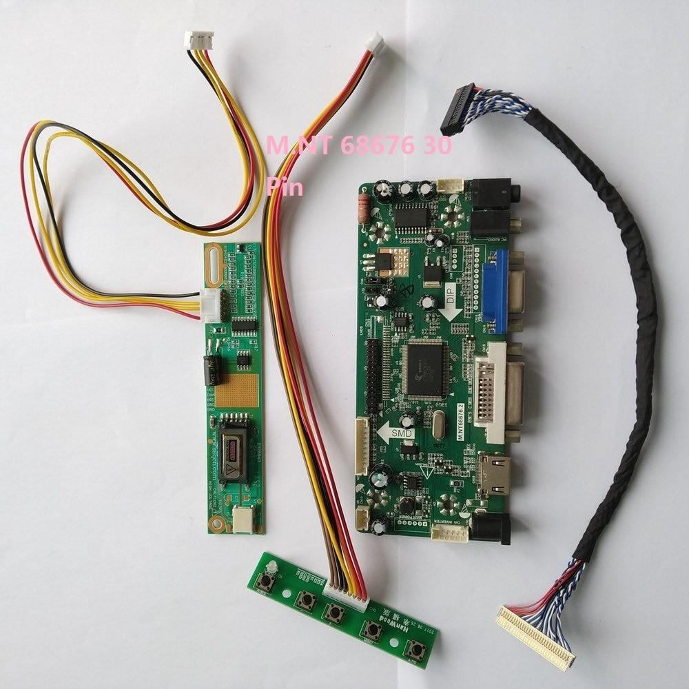 HDMI+DVI+VGA LCD Driver Controller Kit for M190PW01 V5 panel monitor 1440X900