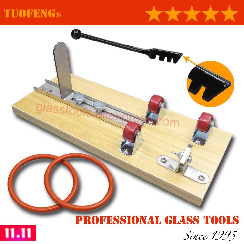 Glass Bottle Cutter Model BTC360W with New Design of Profession Cutting Head