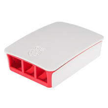 цены High Quality For Raspberry Pi 3 case Official ABS enclosure Raspberry pi 2 box shell from the Raspberry Pi Foundation