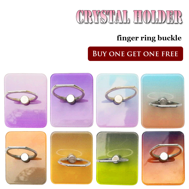 Paste crystal acrylic phone stand for iPhone X 8 7 6 color