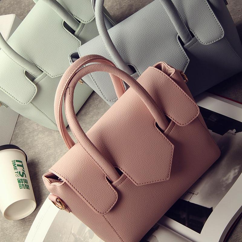 ФОТО 2017 Famous Designer Brand Bags Women Leather Handbags High Quality Shoulder Bags Ladies Hand Bags Tote Female Blosas