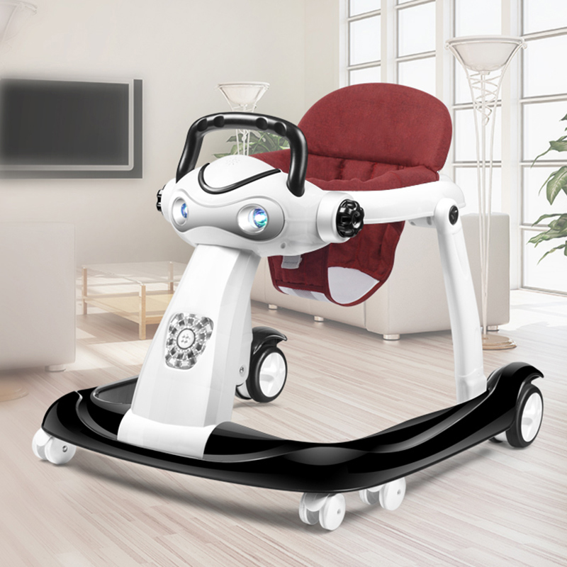 New Multi-function Baby Walker Anti-rollover Walkers For Kids Car Toddler Walker For Kids Learning 6/7-18 Months