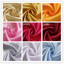1 Yard 150*97cm Create Design  Silk Satin Fabric Wedding Satin Fabric for Sewing and Party Decoration Light 18 Colors MI6