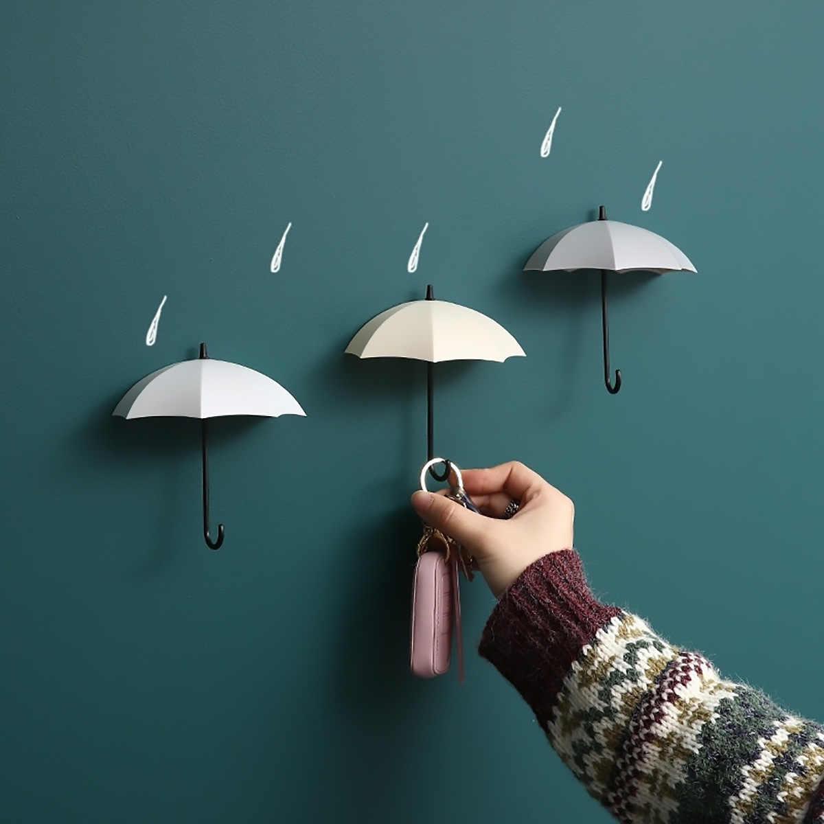 3 個クリエイティブ形収納フック送料爪シングル壁フック小型装飾家の装飾壁フックキーヘアピンホルダー