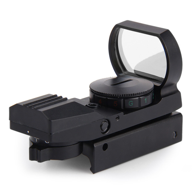 20mm Rail Riflescope Hunting Airsoft Optics Scope 11 x 22 x 33 Holographic Red Dot Sight Reflex 4 Reticle Hunting Accessories