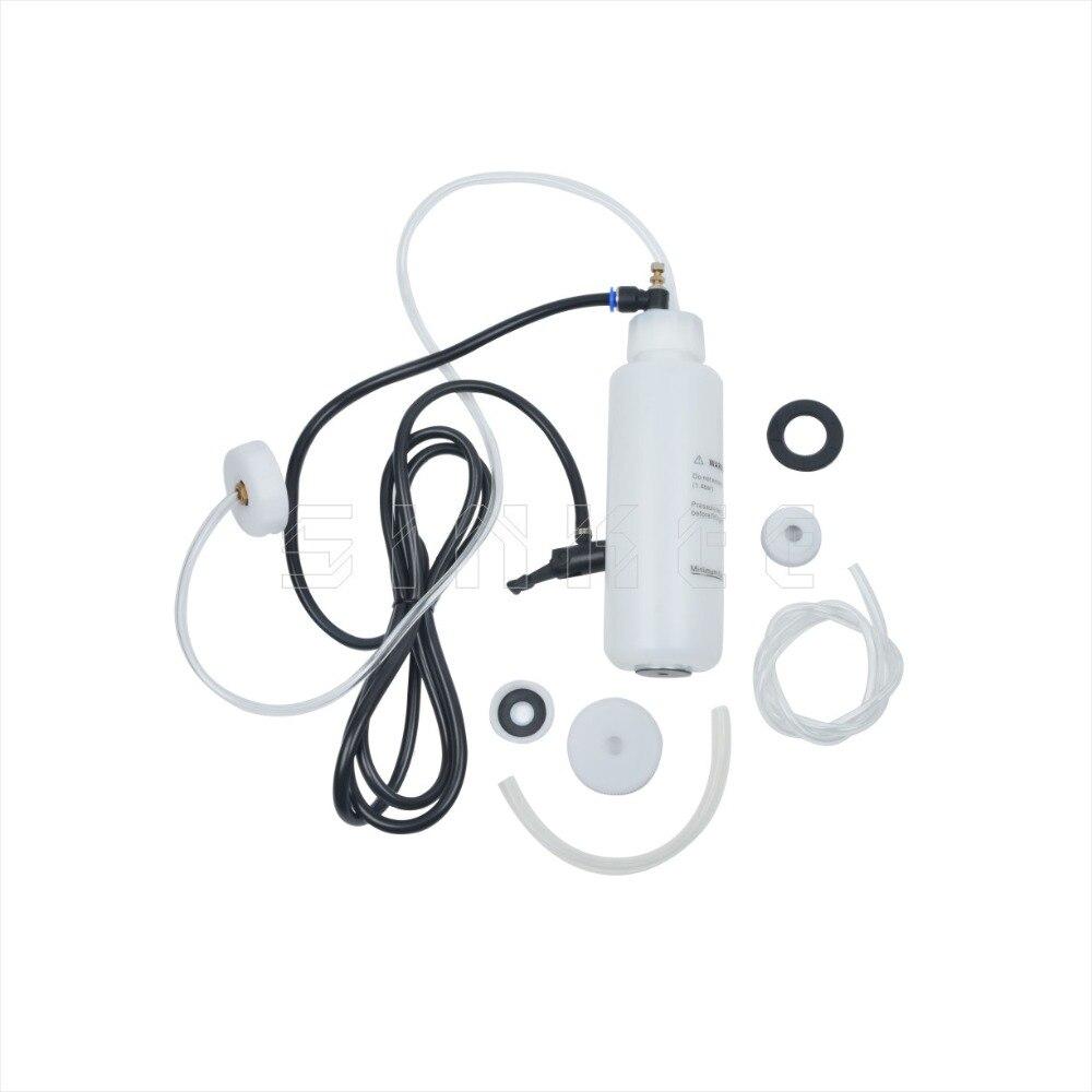 Car Brake Bleeding & Clutch Fluid Bleeder Kit Vacuum Tool Pump For Home DIY Use SK1392