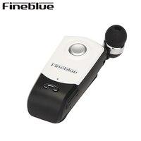 FINEBLUE F960 אלחוטי דיבורית Bluetooth אוזניות המקורי ניידות מדרגי קליפ אוזניות Earbud עם מיקרופון עבור טלפון
