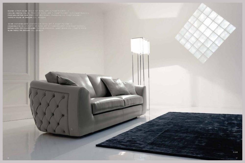 US $899.1 10% OFF|Wohnzimmer Sofa set möbel echte echtem leder sofas salon  couch puff asiento muebles de sala canape chesterfield sofa cama-in ...