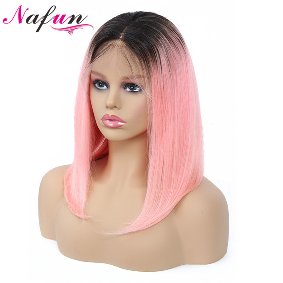 Short Lace Front Human Hair Wigs Malaysia Human Hair Wigs Remy Hair Straight Bob Wig With