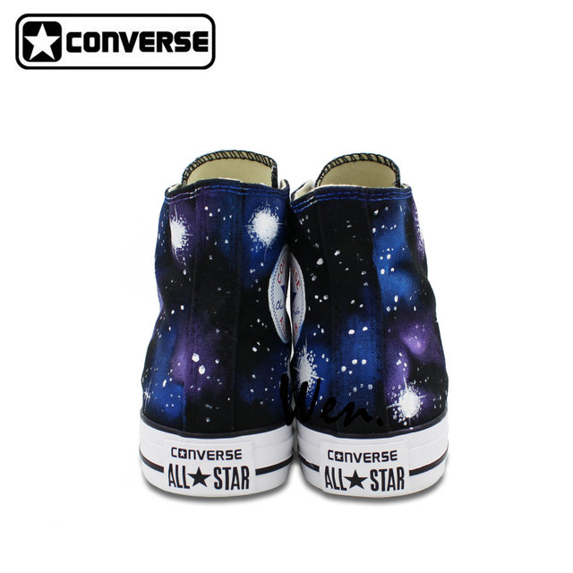 ... Sneakers Galaxy Converse Chuck Taylor High Top Washable Custom Hand  Painted Shoes Men Women Gifts ... 28da21ca7